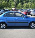 kia rio 2009 blue sedan gasoline 4 cylinders front wheel drive automatic 13502