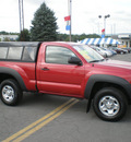 toyota tacoma 2011 red gasoline 4 cylinders 4 wheel drive 5 speed manual 13502