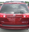 toyota sienna 2009 red van gasoline 6 cylinders front wheel drive automatic 13502