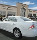 ford fusion 2007 white sedan sel gasoline 6 cylinders front wheel drive automatic 60915