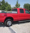 ford f 250 super duty diesel 2006 red xlt 4x4 fx4 diesel 8 cylinders 4 wheel drive automatic 62863