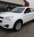 chevrolet equinox 2011 white ls gasoline 4 cylinders front wheel drive automatic 60007