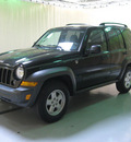 jeep liberty 2006 black suv sport gasoline 6 cylinders 4 wheel drive automatic with overdrive 44883