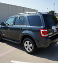 ford escape 2008 gray suv limited gasoline 6 cylinders front wheel drive automatic with overdrive 76108