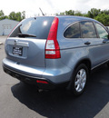 honda cr v 2008 lt  blue suv ex gasoline 4 cylinders all whee drive automatic 45344