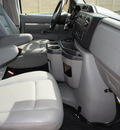 ford econoline cargo 2010 white van e 250 flex fuel 8 cylinders rear wheel drive automatic with overdrive 76108