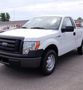 ford f 150 2011 white xl flex fuel 6 cylinders 2 wheel drive 6 speed automatic 46168