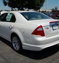 ford fusion 2012 white sedan sel gasoline 4 cylinders front wheel drive 6 speed automatic 46168