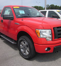 ford f 150 2011 red stx 4x4 flex fuel 8 cylinders 4 wheel drive automatic 62863