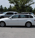 bmw 3 series 2007 white wagon 328i gasoline 6 cylinders rear wheel drive shiftable automatic 27511