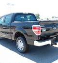 ford f 150 2011 black xl flex fuel 8 cylinders 2 wheel drive automatic 46168