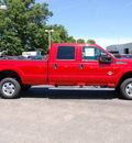 ford f 350 super duty 2011 red biodiesel 8 cylinders 4 wheel drive shiftable automatic 46168
