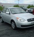 hyundai accent 2009 silver sedan gls gasoline 4 cylinders front wheel drive automatic 13057