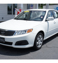 kia optima 2009 white sedan lx gasoline 4 cylinders front wheel drive not specified 28677