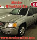 gmc envoy 2006 silver suv sle gasoline 6 cylinders 4 wheel drive automatic 44060