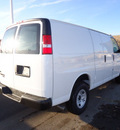 chevrolet express cargo 2011 white van 2500 flex fuel 8 cylinders rear wheel drive 5 speed with overdrive 60007