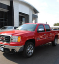 gmc sierra 1500 2011 fire red sle flex fuel 8 cylinders 2 wheel drive automatic 76087