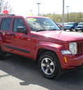 jeep liberty 2008 red suv sport gasoline 6 cylinders 4 wheel drive automatic 13502