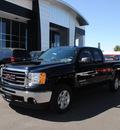 gmc sierra 1500 2011 onyx black pickup truck sle flex fuel 8 cylinders 2 wheel drive automatic 76087