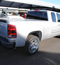 gmc sierra 1500 2011 pure silver pickup truck sle flex fuel 8 cylinders 2 wheel drive 6 speed automatic 76087