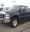 ford f 250 2008 blue super duty diesel 8 cylinders 4 wheel drive automatic 13502