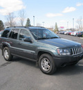 jeep grand cherokee 2004 green suv laredo gasoline 6 cylinders 4 wheel drive automatic with overdrive 13502