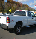 gmc 2500hd sierra 2006 white gasoline v8 4 wheel drive automatic 13502
