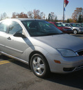 ford focus 2006 silver sedan zx4 gasoline 4 cylinders front wheel drive automatic with overdrive 13502