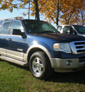 ford expedition 2007 blue suv eddie bauer gasoline 8 cylinders 4 wheel drive automatic with overdrive 13502