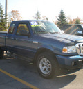 ford ranger 2007 blue gasoline 6 cylinders 4 wheel drive automatic with overdrive 13502