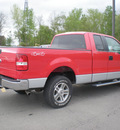 ford f 150 2008 red styleside gasoline 8 cylinders 4 wheel drive automatic with overdrive 13502