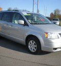 chrysler town and country 2009 silver van touring gasoline 6 cylinders front wheel drive automatic 13502