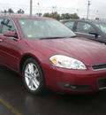 chevrolet impala 2008 red sedan ltz flex fuel 6 cylinders front wheel drive automatic 13502