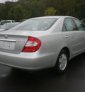 toyota camry 2003 silver sedan gasoline 6 cylinders front wheel drive automatic with overdrive 13502