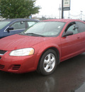 dodge stratus 2004 red sedan sxt gasoline 4 cylinders dohc front wheel drive automatic 13502