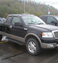 ford f 150 2004 black gasoline 8 cylinders 4 wheel drive automatic 13502