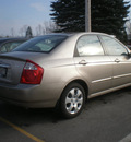 kia spectra 2006 tan sedan gasoline 4 cylinders front wheel drive automatic 13502