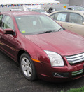 ford fusion 2007 red sedan se gasoline 6 cylinders all whee drive automatic 13502