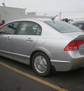 honda civic 2008 silver sedan hybrid hybrid 4 cylinders front wheel drive automatic 13502