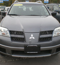 mitsubishi outlander 2005 gray suv ls gasoline 4 cylinders front wheel drive automatic 13502