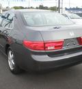 honda accord 2005 gray sedan ex gasoline 4 cylinders front wheel drive automatic 13502