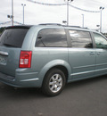 chrysler town country 2008 lt blue van touring gasoline 6 cylinders front wheel drive automatic 13502