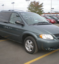 dodge grand caravan 2006 green van sxt gasoline 6 cylinders front wheel drive automatic 13502
