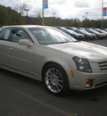 cadillac cts 2007 gold sedan high feature gasoline 6 cylinders rear wheel drive automatic 13502