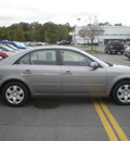 hyundai sonata 2007 gray sedan gl gasoline 4 cylinders front wheel drive automatic 13502