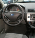 ford focus 2007 black sedan gasoline 4 cylinders front wheel drive automatic with overdrive 13502