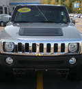 hummer h3 2007 gray suv gasoline 5 cylinders 4 wheel drive automatic 13502
