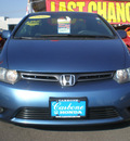 honda civic 2006 blue coupe ex gasoline 4 cylinders front wheel drive automatic 13502