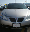 pontiac g6 2006 silver sedan gt gasoline 6 cylinders front wheel drive automatic 13502