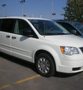 chrysler town country 2008 white van lx flex fuel 6 cylinders front wheel drive automatic 13502